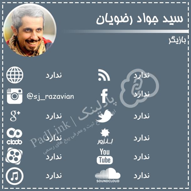 پیج های رسمی سید جواد رضویان