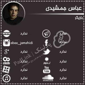 پیج های رسمی عباس جمشیدی - پادلینک