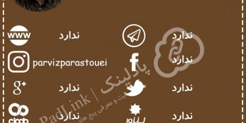پیج های رسمی پرویز پرستویی - پادلینک
