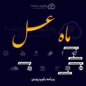پیج های رسمی برنامه ماه عسل - پادلینک