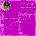پیج های رسمی مریم حیدرزاده - پادلینک